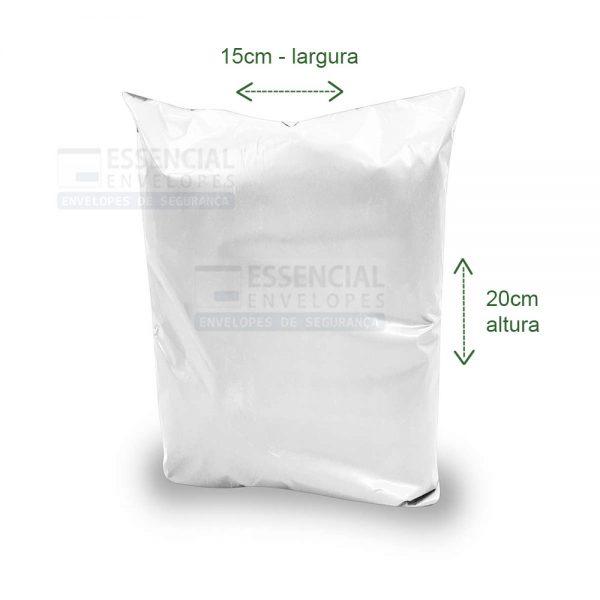 Envelope Plastico para Documentos 15x20